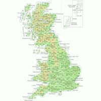 Ordnance Survey Wandelkaart 008 Stornoway & North Lewis