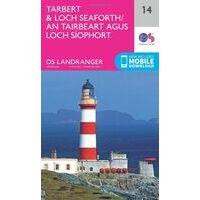 Ordnance Survey Wandelkaart 014 Tarbert & Loch Seaforth