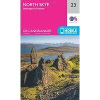 Ordnance Survey Wandelkaart 023 North Skye