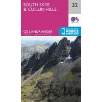 Ordnance Survey Wandelkaart 032 South Skye & Cuillin Hills