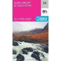 Ordnance Survey Wandelkaart 050 Glen Orchy & Loch Etive
