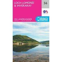 Ordnance Survey Wandelkaart 056 Loch Lomond & Inveraray