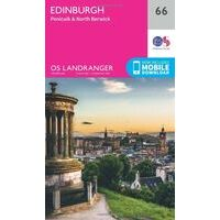 Ordnance Survey Wandelkaart 066 Edinburgh