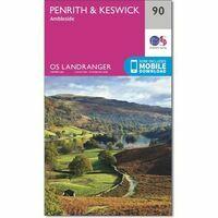 Ordnance Survey Wandelkaart 090 Penrith & Keswick