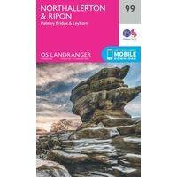 Ordnance Survey Wandelkaart 099 Northallerton & Ripon