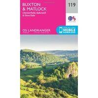 Ordnance Survey Wandelkaart 119 Buxton & Matlock