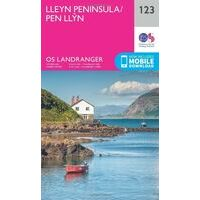 Ordnance Survey Wandelkaart 123 Lleyn Peninsula