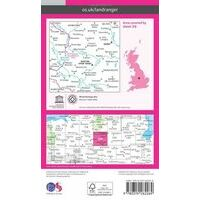 Ordnance Survey Wandelkaart 128 Derby & Burton Upon Trent