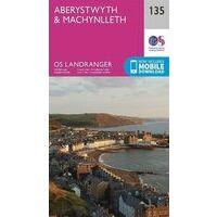Ordnance Survey Wandelkaart 135 Aberystwyth - Machynlleth