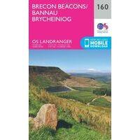 Ordnance Survey Wandelkaart 160 Brecon Beacons