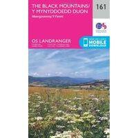 Ordnance Survey Wandelkaart 161 The Black Mountains