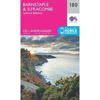 Ordnance Survey Wandelkaart 180 Active Barnstaple & Ilfracombe