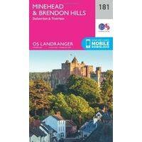 Ordnance Survey Wandelkaart 181 Minehead & Brendon Hills