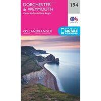 Ordnance Survey Wandelkaart 194 Dorchester - Weymouth