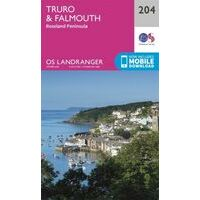 Ordnance Survey Wandelkaart 204 Truro & Falmouth