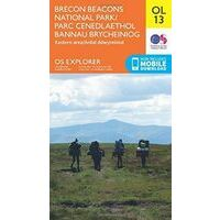 Ordnance Survey Wandelkaart OL13 Explorer Brecon Beacons