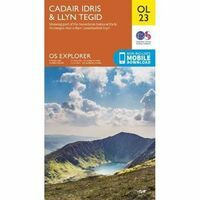 Ordnance Survey Wandelkaart OL23 Explorer Cadair Idris