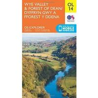 Ordnance Survey Wandelkaart OL14 Explorer Wye Valley