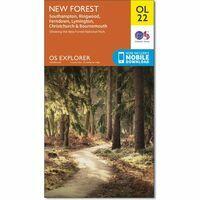 Ordnance Survey Wandelkaart OL22 Explorer New Forest
