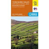 Ordnance Survey Wandelkaart OL30 Explorer Yorkshire Dales N & C