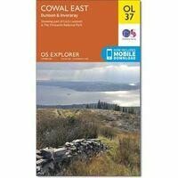 Ordnance Survey Wandelkaart OL37 Explorer Cowal East - Dunoon