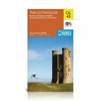 Ordnance Survey Wandelkaart OL45 Explorer The Cotswolds