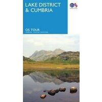 Ordnance Survey Wegenkaart Fietskaart 03 Lake District