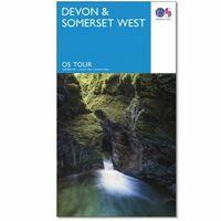 Ordnance Survey Wegenkaart Fietskaart Tour 05 Devon Somerset West
