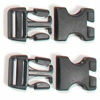 Ortlieb E135 Stealth Clips Voor Ortlieb Rackpack-  2 Sets Gespen