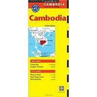 Periplus Maps Cambodia Travel Map