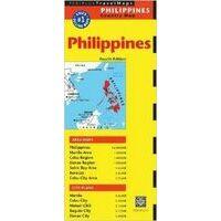 Periplus Maps Philippines Travel Map