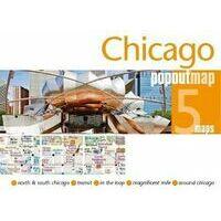 PopOut Map Stadsplattegrond Chicago PopOut