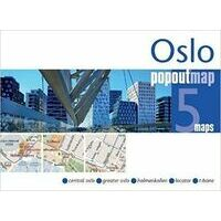 PopOut Map Stadsplattegrond Oslo PopOut Map