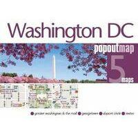 PopOut Map Stadsplattegrond Washington DC PopOut Map