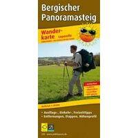 Publicpress Wandelkaart Bergischer Panoramasteig