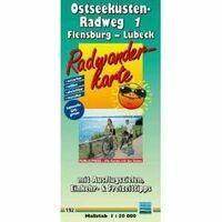 Publicpress Fietskaart 192 Ostseekusten Radweg Deel 1