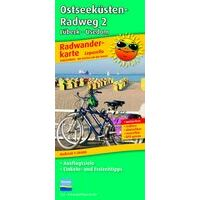 Publicpress Fietskaart 253 Ostseekusten Radweg Deel 2 1:50.000