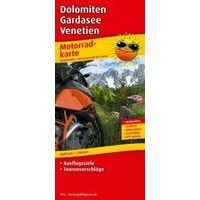 Publicpress Motorkaart 296 Dolomieten Gardameer