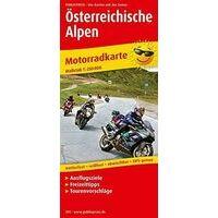 Publicpress Motorkaart 393 Oostenrijkse Alpen