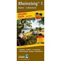 Publicpress Wandelkaart Rheinsteig Deel 1