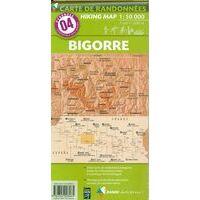 Rando Editions Wandelkaart 04 Bigorre