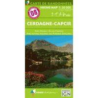 Rando Editions Wandelkaart 08 Cerdagne-Capcir