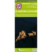 Rando Editions Wandelkaart 09 Le Sentier Cathare