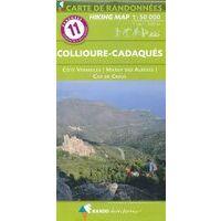 Rando Editions Wandelkaart 11 Roussillon