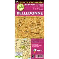 Rando Editions Wandelkaart A5 Belledonne