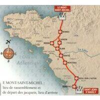 Rando Editions Chemin Du Mont St Michel Vers Compostela