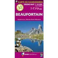 Rando Editions Wandelkaart A2 Beaufortain