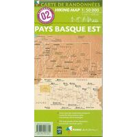 Rando Editions Wandelkaart 02 Pays Basque Est