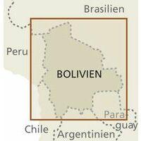 Reise Know How Wegenkaart Bolivia