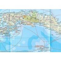 Reise Know How Landkaart Papua Nieuw Guinea